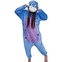 hot unisex costume carnevale Halloween Pigiama animali kigurumi cosplay Zoo onesies tuta-L/170-Hi ho