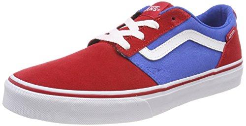 Vans Unisex-Kinder Chapman Stripe Sneaker, Mehrfarbig (Suede/Canvas), 35 EU