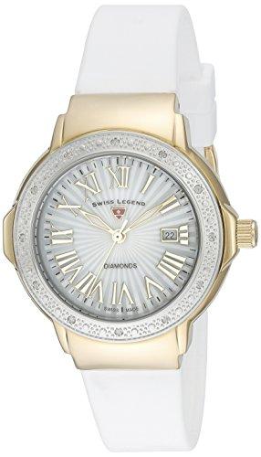 Swiss Legend Womens Watch SL-20032DSM-YG-02-SB-WHT