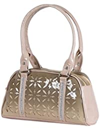 Dezino Tortoise Latest Cut Work Handbag Shoulder Bag Purse For Ladies Women