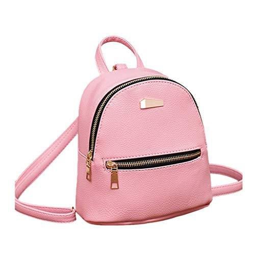 Deep lovly Frauen Rucksack Reisetasche Stoffrucksack Lässiger Wilde Studententasche Mode Einkaufstasche Handtasche Brieftasche Sporttaschen Einfach Retro Rucksack