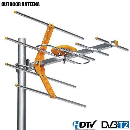 XuBa HD Digital Outdoor TV Antenne für DVBT2 HDTV ISDBT ATSC High Gain Starkes Signal Outdoor TV Antenne Atsc-outdoor-antenne