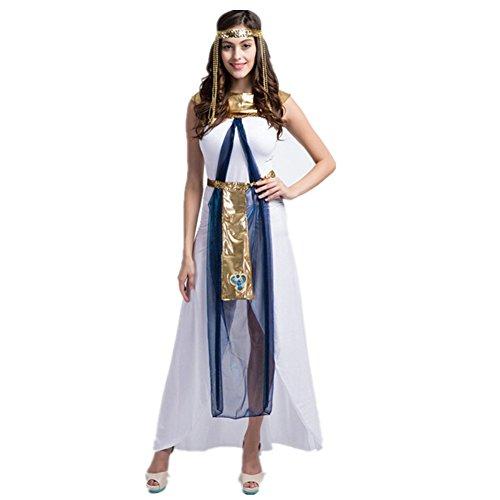 Imagen de disfraz de diosa griega atena para mujer cosplay costume romana reina egipcia