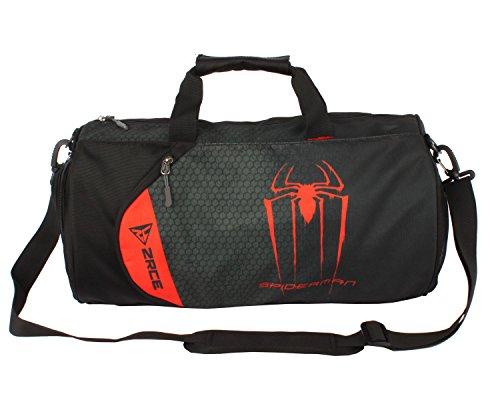 Cody Lundin High capacidad baloncesto Bolsa viaje paquete impreso bolsas de deporte de la insignia de héroe (color-a)