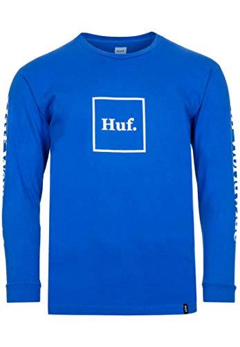 HUF Domestic Longsleeve - Nebulas Blue - M