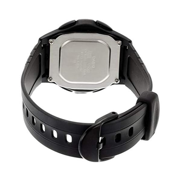 Casio Collection F-200W-1AEF, Reloj Redondo para Mujer, Digital, Acero
