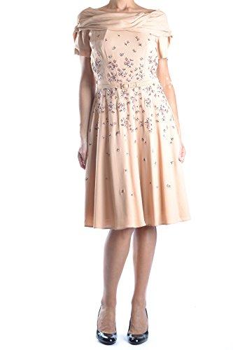 Prada Damen Mcbi244020o Beige Viskose Kleid