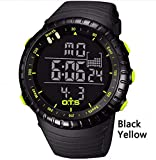 WMWMY Digital Watch Men's Sports Watch 50M Piscine Étanche Outdoor Alpinisme Watch,...