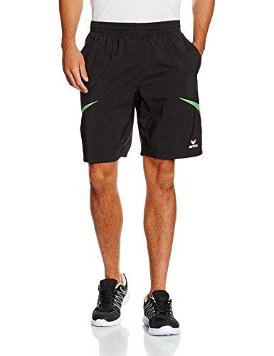 erima Herren Shorts Razor 2.0 Schwarz/Green