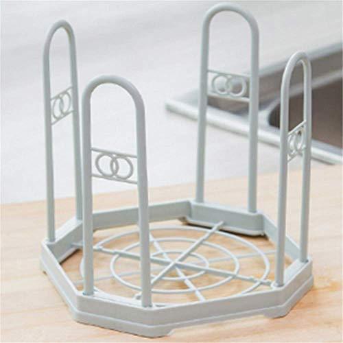 Light Blue Plastic Bowls (CXYJ-küchenablage Regal,Organizer,Multifunktionell,Küche das Bad.)