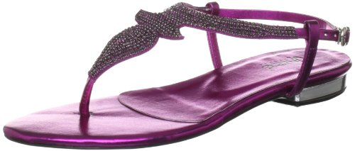 Unze Evening Sandals, Sandales femme Violet-TR-I3-48