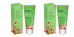 Aroma Magic Neem and Tea Tree Face Wash (Pack of 2)