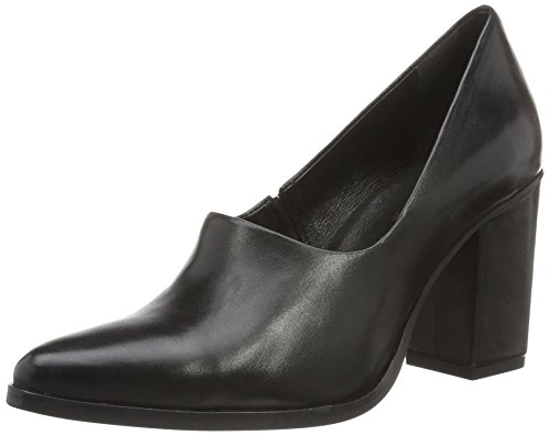 Bianco Inn. High Front Pump Exp16, Escarpins femme Noir