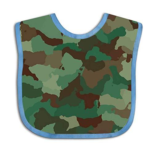 Army Camouflage Pattern Bib Funny Baby Shower Gift Camouflage-baby-bib