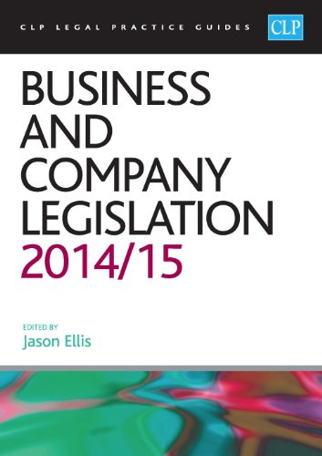 Business and Company Legislation 2014/2015 (CLP Legal Practice Guides)