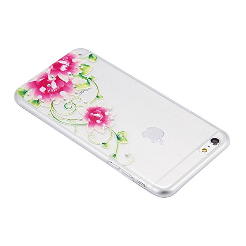 ECENCE APPLE IPHONE 6 6S (4,7) COQUE DE PROTECTION HOUSSE CASE COVER 41020404 Lotus