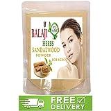BALAJI HERBS SANDALWOOD POWDER FOR FACE 100% BEST QUALITY (100g)