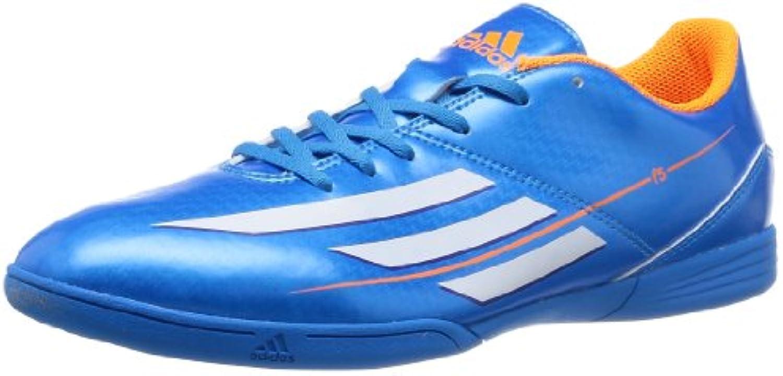 adidas Erwachsenen F5 IN Hallen Fussball Schuh blau weisss