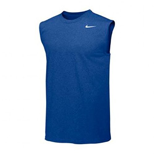 Nike Mens Legend Dri Fit Sleeveless T Shirt (Medium, Royal) (Dri-fit-sleeveless Tee)