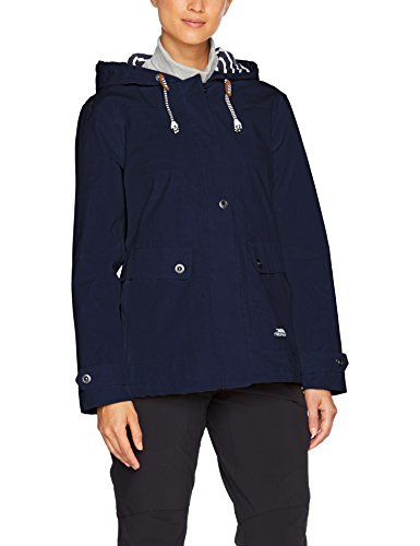 Trespass Women's Seawater Waterproof Rain Jacket with Concealed Hood