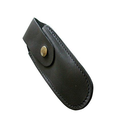 Laguiole Actiforge - Etui cuir pour tout couteau de poche - Fabrication Française Artisanale