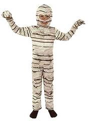 Idea Regalo - Joker M054-002 - Costume Mummia, Bianco, Taglia 2, 8/10 Anni