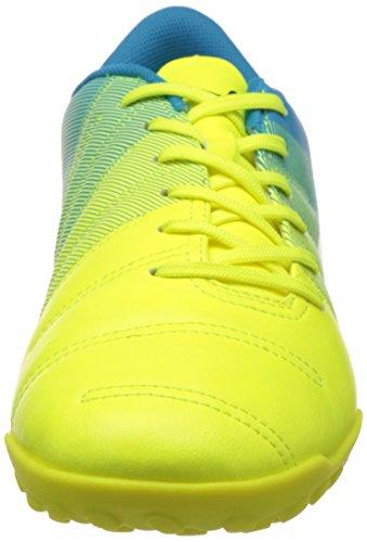 Puma Evopower 4.3 Tt, Chaussures de Football Compétition homme Jaune (Safety Yellow/Black/Atomic Blue)