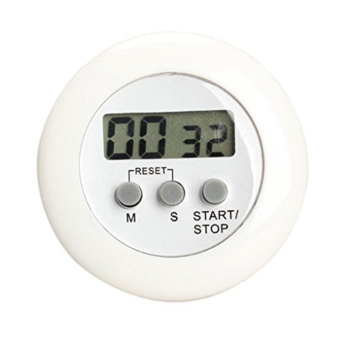 LUFA LCD-Digital-Küche calculagraph Countdown Magnetic Timer stehen zurück Garzeit Count UP Wecker (Element Lcd)