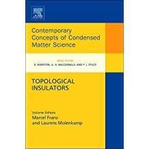 Topological Insulators (Contemporary Concepts of Condensed Matter Science)
