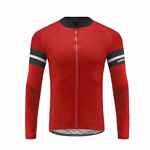 Uglyfrog #44 Bicycle Wear Cycling Jersey Long Sleeve Men's Bicycle Spring Triathlon Top