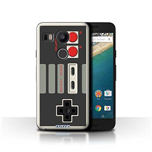 Stuff4 Hülle / Hülle für LG Nexus 5X / Klassisches Nintendo Muster / Spielkonsolen Kollektion