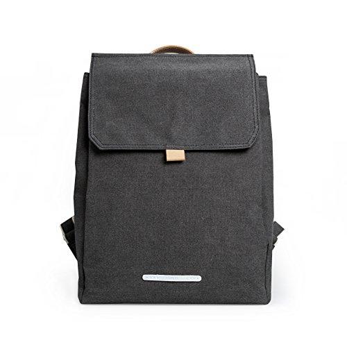Rucksack Damen Frauen RAWROW - Daypack Uni Alltags Tasche Canvas Wasserdicht - Kleiner Rucksack Madchen - 13 Zoll Laptop - RAWR...
