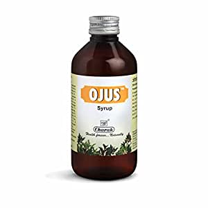 Charak Pharma Ojus Syrup for Indigestion Digestive Aid (200 ml, Pack of 2)