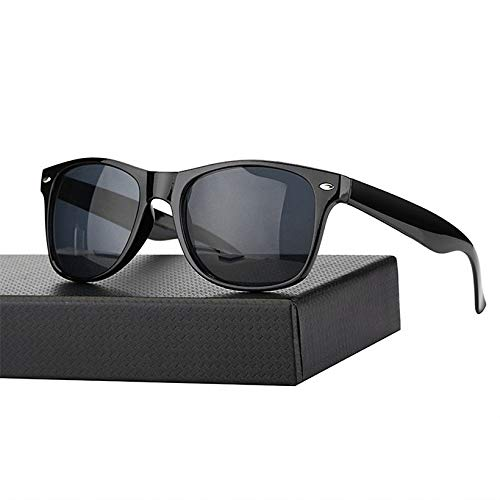 CCMOO Sonnenbrille Männer/Frauen Marke Designer Mode Sonnenbrille Damenmode Sonnenbrille-Schwarz