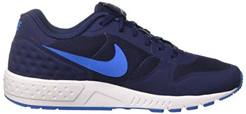 Nike Nightgazer Lw Se, Chaussures de Tennis Homme Bleu (Midnight Navy/photo Blue/white)