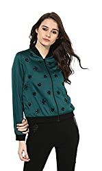 Kazo Womens Jacket (Green, L)