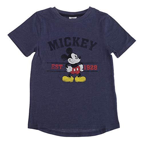 Disney - Camiseta modelo Mickey Mouse para niños y niñas (5-6 Años/