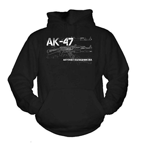 shirtmachine AK 47 Hoodie (M) -