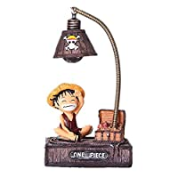 Anime one piece Luffy LED Night Light Table Lamp Figure Toys Home Deocr