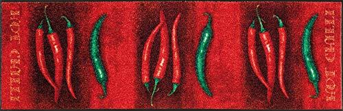 (wash+dry Fußmatte Hot Chili 60x180 cm)