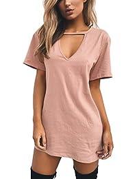 Amazon.it  mini abito sexy - Vestiti   Donna  Abbigliamento 682f61655bf
