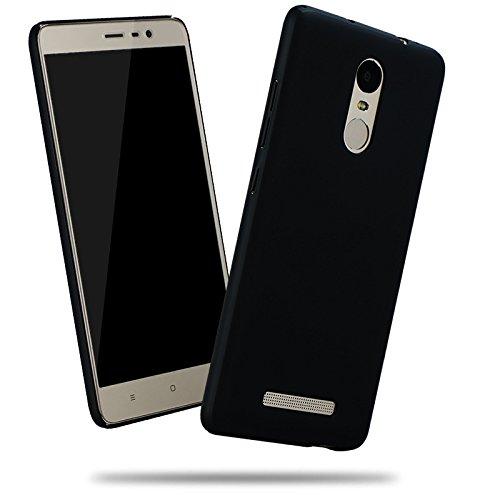 Tarkan Full Body QuickSand Xiaomi Redmi Note 3 Case: Matte Slim Hard PC Bumper Back Cover [Sandstone Black]  available at amazon for Rs.199