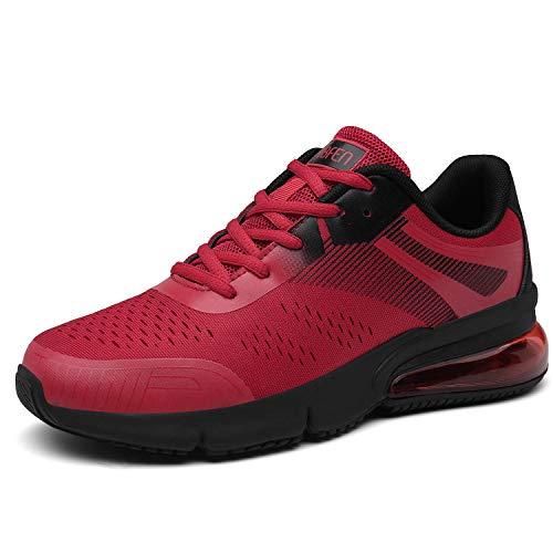 SOLLOMENSI Zapatillas para Hombre Calzados de Running Correr en Asfalto Montaña Atletismo Aire Libre...
