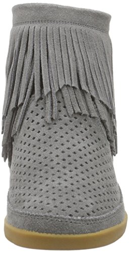 Shoe the Bear Emmy Fringes Grey, Baskets Basses Femme Gris (Grey)