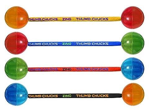 Thumb Chucks ZG888 Detachable LED Pulse Light - Color May Vary