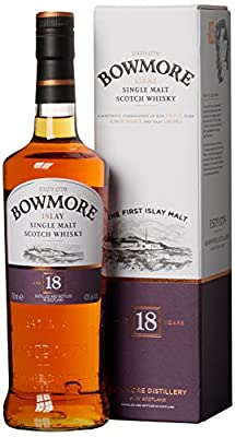 Bowmore 18 Jahre Single Malt Scotch Whisky (1 x 0.7 l)