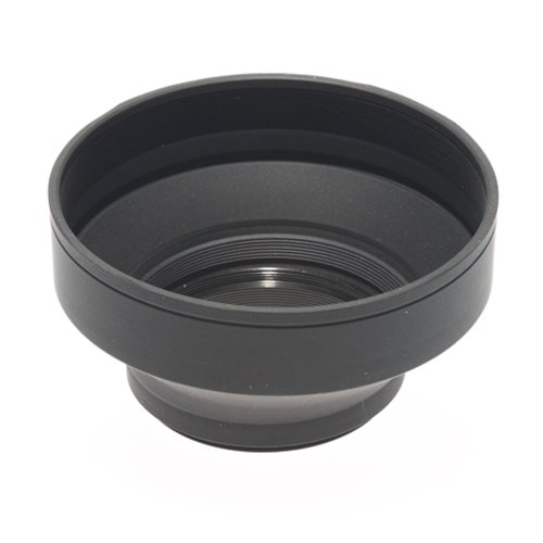 3-stage Gegenlichtblende faltbar (Collapsible Rubber) 58mm Collapsible Rubber Lens