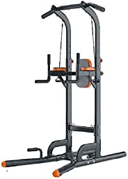 SkyLand-Multi-Function chin up station   with rope & back
