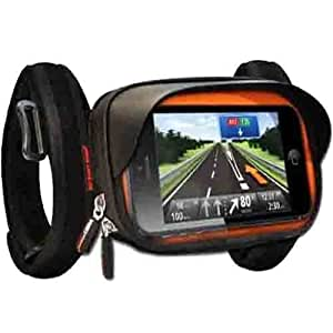 So easy rider smartphone gps moto bicyclette support coque for Housse etanche gps moto
