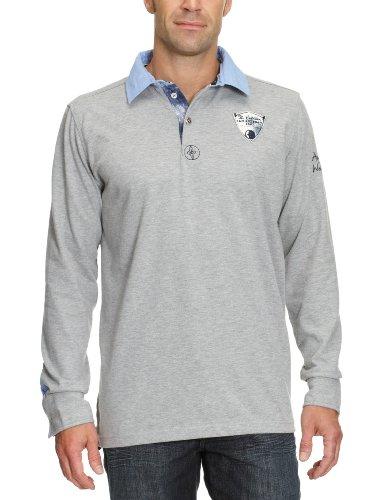 ARQUEONAUTAS Herren Shirt/ Poloshirt 711204 Grau (Grey Mel.)